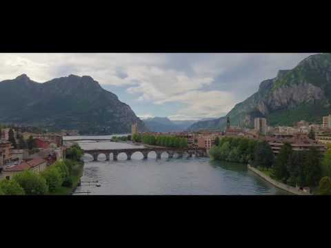Lecco, Italy amazing footage the alps and Como lake by rage studios