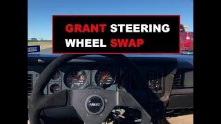 1986 Mustang GT Project - Steering Wheel Swap