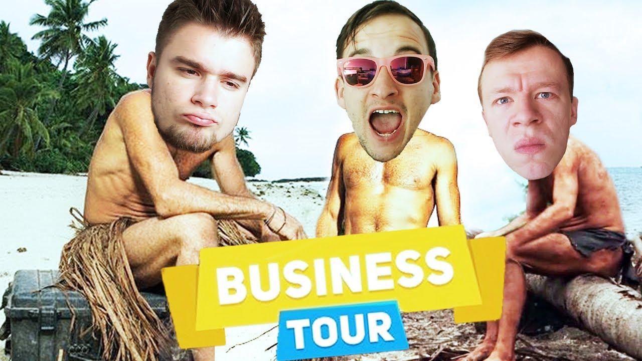 TRZECH TYPIARZY NA BEZLUDNEJ WYSPIE! | Business Tour [#3] (With: Dobrodziej, Diabeuu, Plaga)