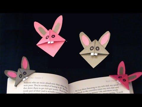 Easy Mice Corner Bookmark | Simple Paper Crafts of Everyone