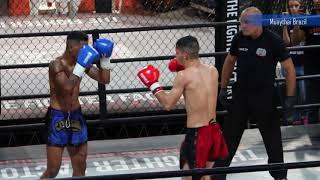 Final Fight - Kevim Caveirinha vs Carlos Eduardo - Collision Muay Thai Show - #muaythaifight #mtbr