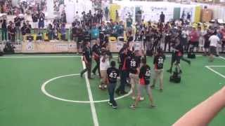 Final RoboCup 2014 Tech United - Water (China)
