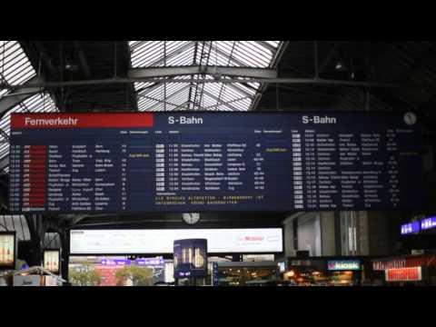Goodbye Fallblatt-Anzeiger - HB Zürich
