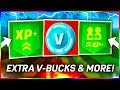 "FORTNITE How To Get EXTRA ""V-BUCKS"" & UNLOCK ALL ""OUTFITS"" INSTANTLY + EXTRA XP Per Game! #DooMRC"