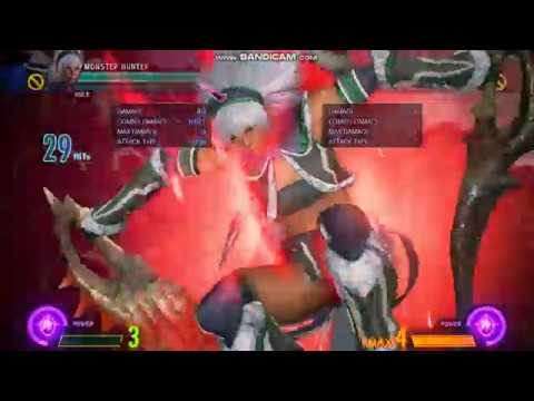 MVCI - MH Practical Anti-Air Combo 5.1K No Resources