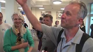 Первый безвизовый авиарейс из Украины в Литву