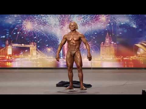 Denton Wilson Bodybuilder - Britains Got Talent 2009