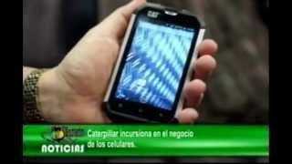 Caterpillar incursiona en el negocio de los celulares