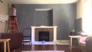 Time Lapse: Mantel Wall