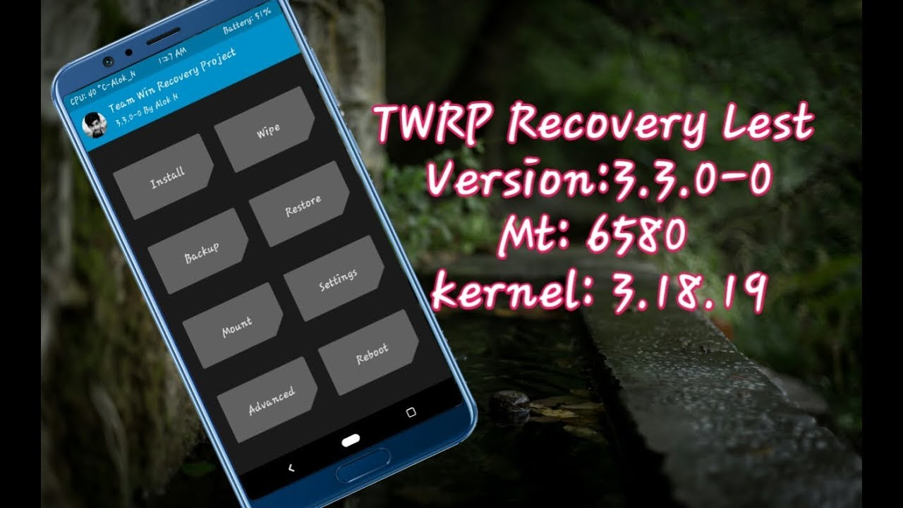 Twrp Recovery 3 3 0-0 Touch Warking For i10 Mt6580 kernel 3 18 19