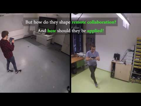 Remote Collaboration With Mixed Reality Displays
