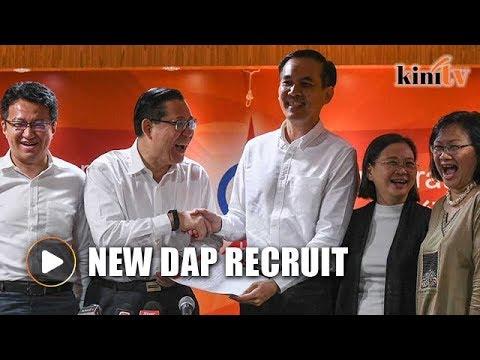 DAP welcomes former Bersih activist Johnson Chew