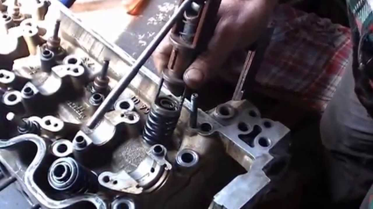 ремонт головки цилиндров мерседес