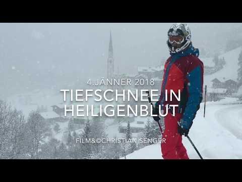Tiefschnee in Heiligenblut  4.Jänner 2018  Pow, Pow, Pow!!!