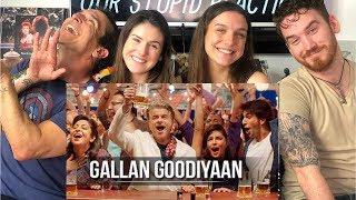 Gallan Goodiyaan Song REACTION | Dil Dhadakne Do | Ranveer Singh & Priyanka Chopra