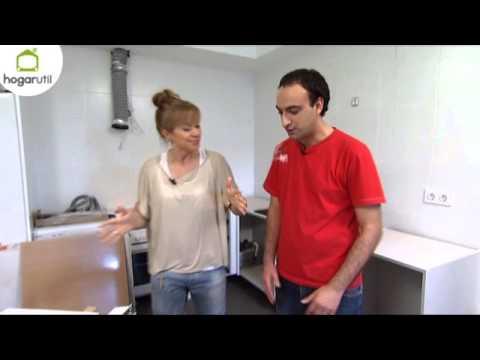 C mo amueblar y decorar una cocina americana youtube for Como decorar una cocina