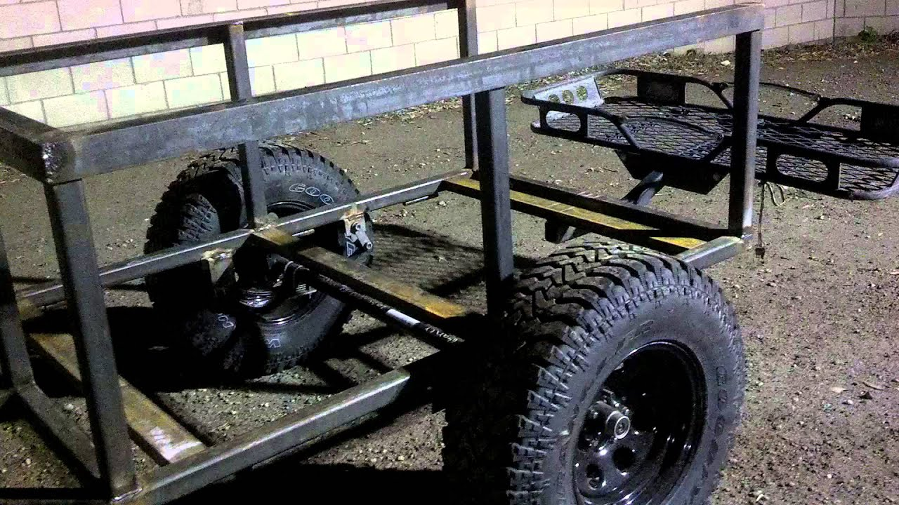 part 3 off road camping trailer youtube