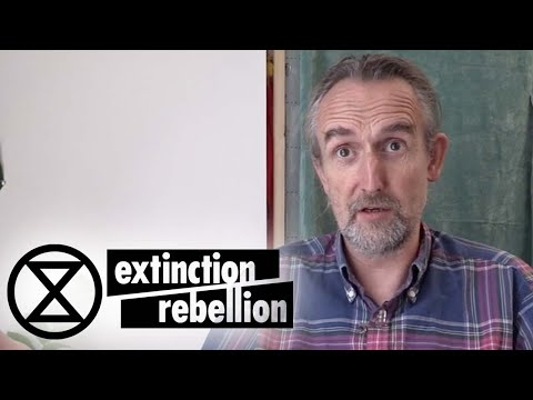 """""""If we don't work together, we are going to die together"""" - Roger Hallam   Extinction Rebellion"""