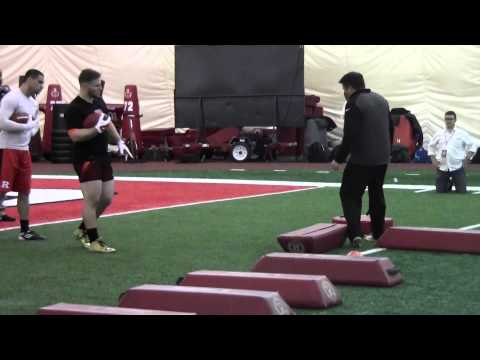 Michael Burton Cincinnati Bengals Workout Rutgers Pro Day