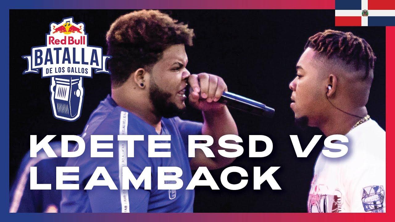 KDETE RSD vs LEAMBACK - Octavos | Red Bull Dominicana 2020