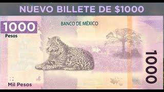 🔥NUEVO BILLETE DE $1000 PESOS, YA SALDRÁ EN MÉXICO! Y SERÁ ASÍ 📢📢