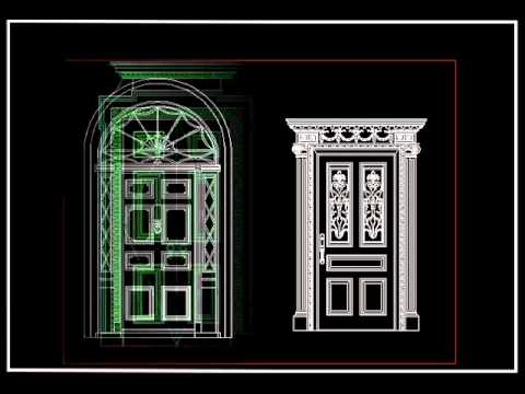 【autocad Block Download】european Classical Decorative