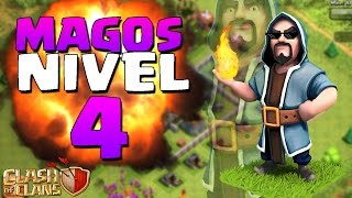 """""""ATAQUE CON MAGOS"""" - Magos Nivel 4 - Clash Of Clans"""