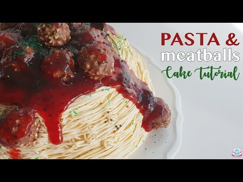PASTA & MEATBALLS CAKE | Abbyliciousz The Cake Boutique