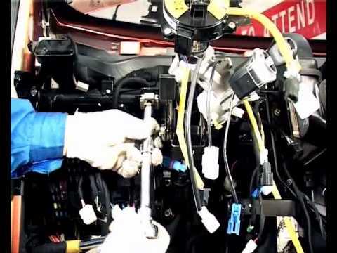 Снятие и установка рулевой колонки Чери А13 / Форза