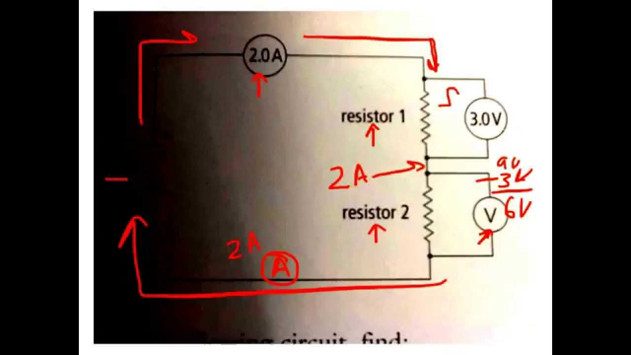 Ohms Law And Series Circuits Youtube For In The Text They Show A Circuit That Looks Like This