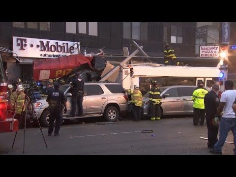 Deadly bus crash in Queens, New York