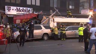 Deadly bus crash in Queens, New York