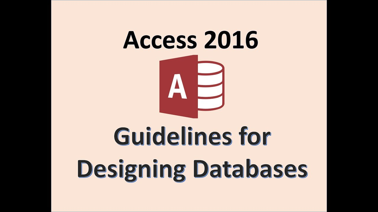 Access 2016 - Field Properties - Designing Databases - How To Design a Database in MS Microsoft 365