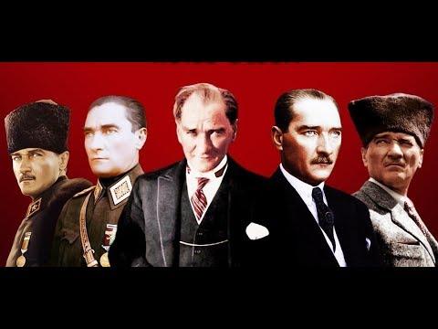 Mustafa Kemal Atatürk'ün Renkli Videosu