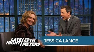 Jessica Lange Thinks Awards Shows Have Become a Freak Show - Late Night with Seth Meyers