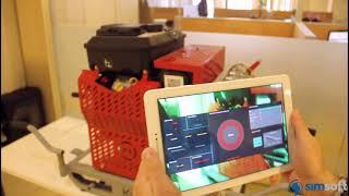 Simovate Maintenance - AR Kesitirimci Bakım Uygulaması
