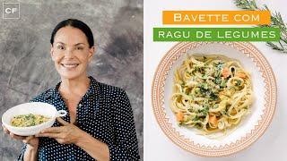 Bavette com Ragu de Legumes - Na Cozinha Com Carolina
