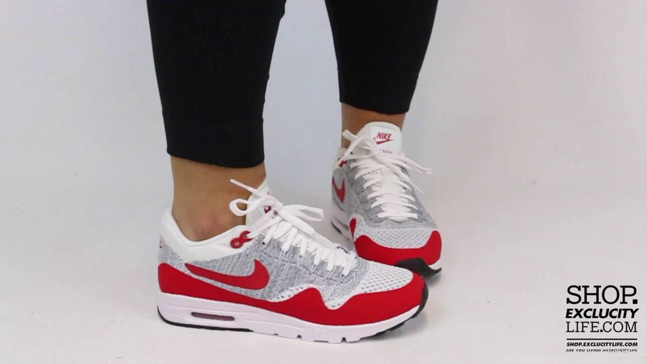 Nike Air Max 1 Flyknit On Feet