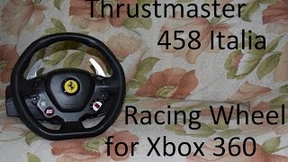 Thrustmaster Ferrari 458 Italia racing wheel by Thrustmaster