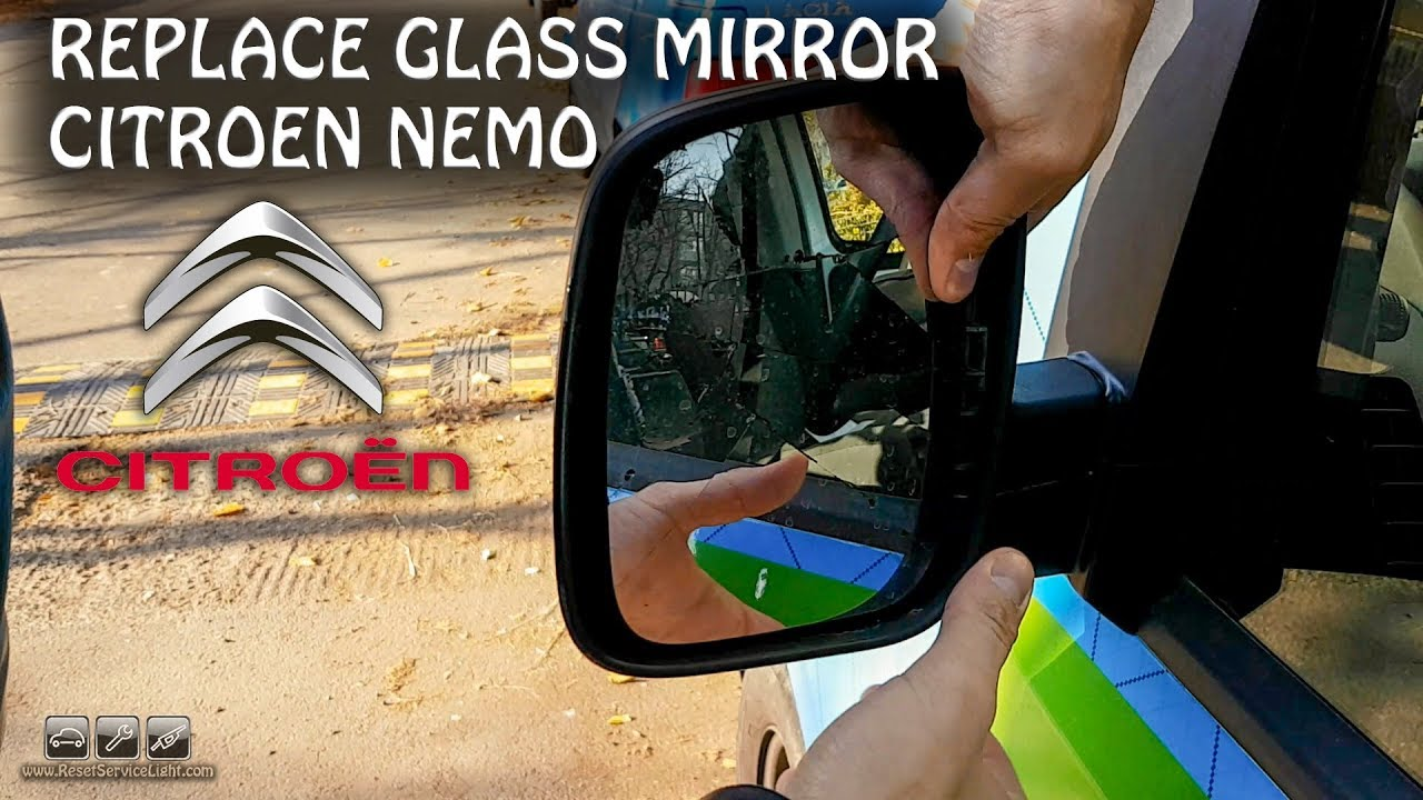 FIAT Fiorino 2008 to 2017 Complete Wing Mirror LEFT HAND Passenger Side