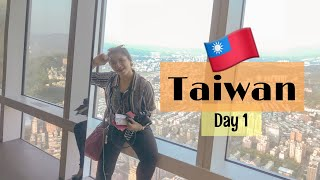 TAIWAN TRAVEL VLOG #1 | Seeing Taipei from above with Jamie Zhu?!