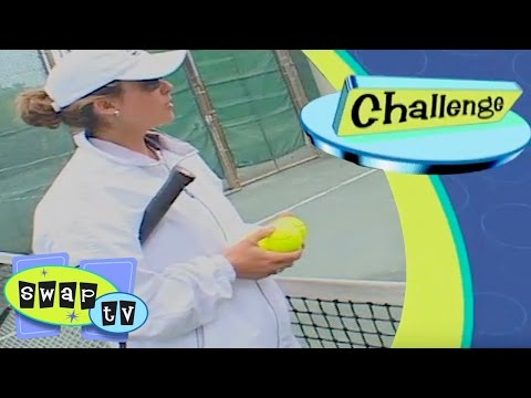 Swap TV   Pick Your Own Strawberry Farm Girl Swaps With Competitive Tennis Pro