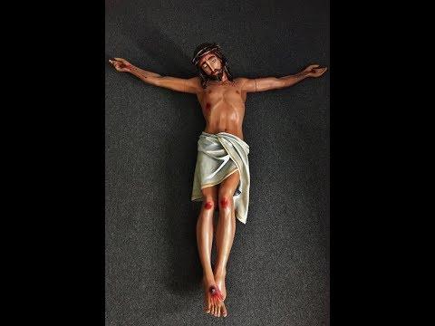 Christ Corpus statue repair 102