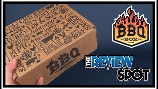 Subscription Spot   The BBQ Box December 2017 UNBOXING!