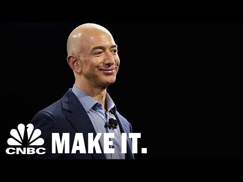 Amazon CEO Jeff Bezos Leadership Style Influenced By The Everything Store | CNBC Make It.