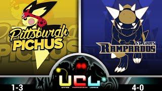 Pokémon ORAS LIVE Wi-Fi Battle [UCL LC W4] Pittsburgh Pichus vs St. Louis Rampardos