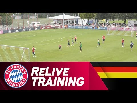 ReLive | FC Bayern Training w/ Lewy, Hummels & more!