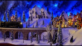 Dept 56 Christmas 2021 The Polar Express Christmas Village 2020 2021 With Dept 56 Lemax And Lionel Flyerchief Train Youtube