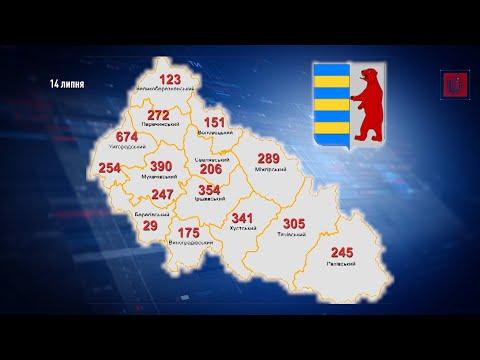 За добовим приростом коронавірусу на Закарпатті лідирують Тячівщина та Іршавщина