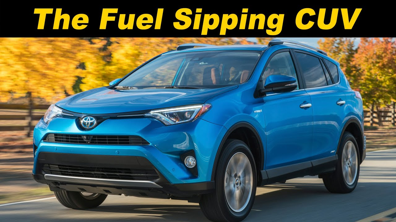 2016 2017 toyota rav4 hybrid review and road test detailed in 4k uhd youtube. Black Bedroom Furniture Sets. Home Design Ideas